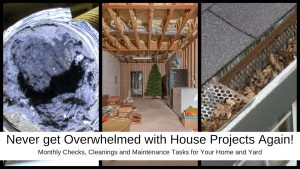 Maintenance Tasks for your home