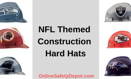 NFL Themed Construction Hard Hats