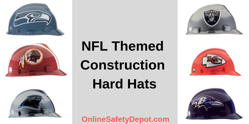 NFL Themed Construction Hard Hats - Industrial and Personal Safety Products  from OnlineSafetyDepot.com 72d124a4c8f