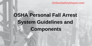 OSHA Personal Fall Arrest System Guidelines and Components