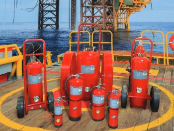 Offshore Fire Extinguishers