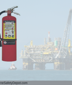 Offshore Portable Fire Extinguishers