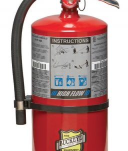Buckeye Off Shore Model OS 30 ABC 30 lb Dry Chemical Agent Hand Portable Fire Extinguisher (13360)