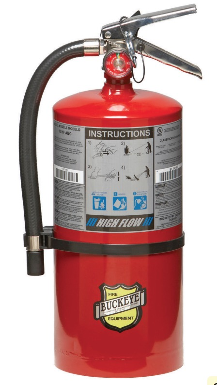 Buckeye Offshore Model OS 20 PK 20 lb. Purple K Dry Chemical Agent Hand Portable Fire Extinguisher (12760)