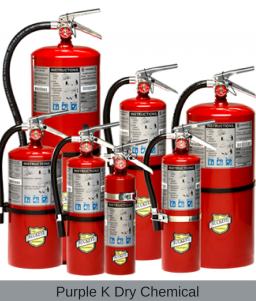 Offshore Portable Purple K Fire Extinguishers