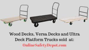 OnlineSafetyDepot Safety Platform Trucks