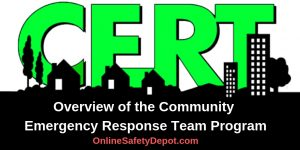 Overview of the Community Emergency Response Team Program