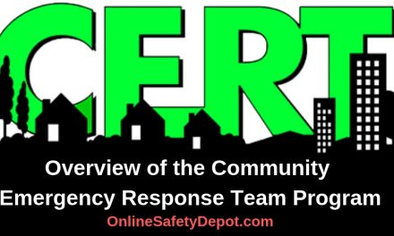 Overview of the Community Emergency Response Team Program- CERT