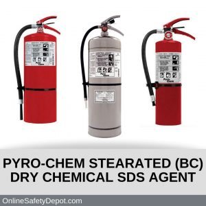 PYRO-CHEM STEARATED (BC) DRY CHEMICAL FIRE EXTINGUISHING AGENT