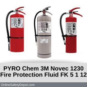 PYRO Chem 3M Novec 1230 Fire Protection Fluid FK 5 1 12