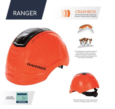 ENHA Ranger Safety Helmet Award-Winning