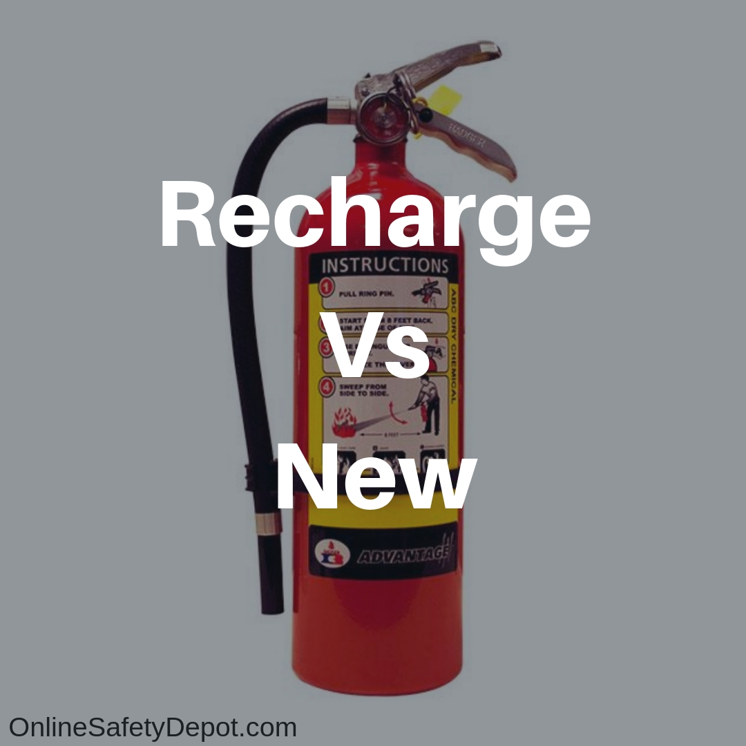 Recharge vs New