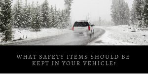 Safety Items For The Car