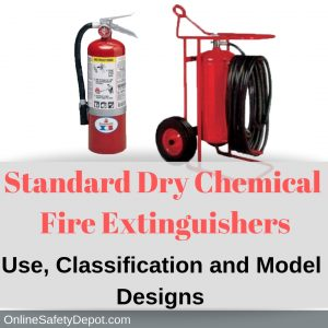Standard Dry Chemical Fire Extinguishers