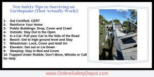 Ten Safety Tips to Surviving an Earthquake (That Actually Work!)