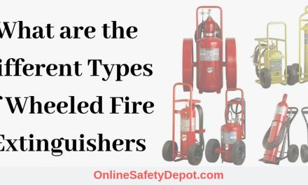 What are the Different Types of Wheeled Fire Extinguishers?
