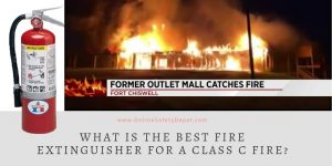What is the best fire extinguisher for a Class C fire?