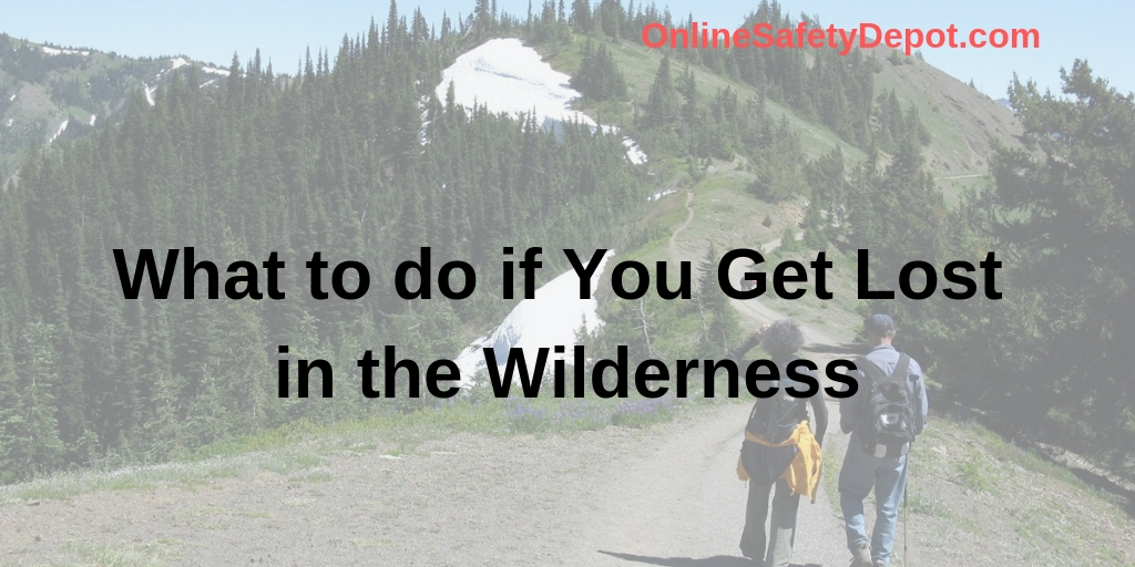 What to do if You Get Lost in the Wilderness