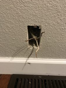 Wall Outlet Wires