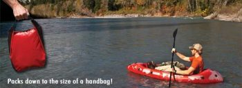 Packlite Compact Kayak from Advanced Elements Remote Use