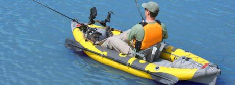 StraightEdge Angler Inflatable Fishing Kayak