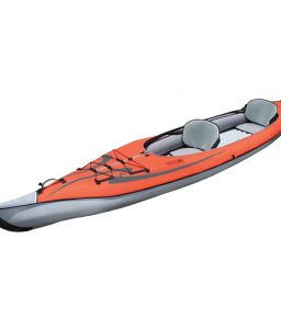 AdvanceFrame Convertible Solo/Tandem Open-Closed Deck Kayak from Advanced Elements