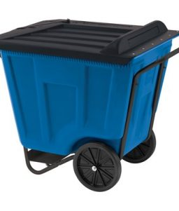 Blue Medium Duty Material Transport Cart