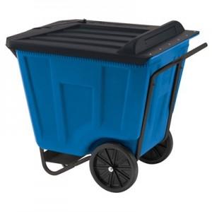 Blue Medium Duty Material Transport Cart