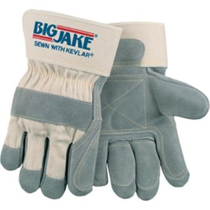 Big Jake Leather Palm Construction Gloves