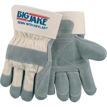 Big Jake Leather Palm Construction Gloves