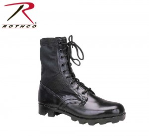 Black Jungle Boots Army Combat Shoes - Rothco