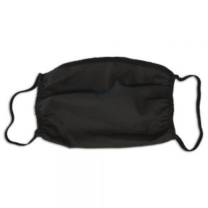Black Cotton Mask Elastic