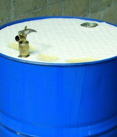Brady Allwik Aborbent 55-gallon Drum Top Cover