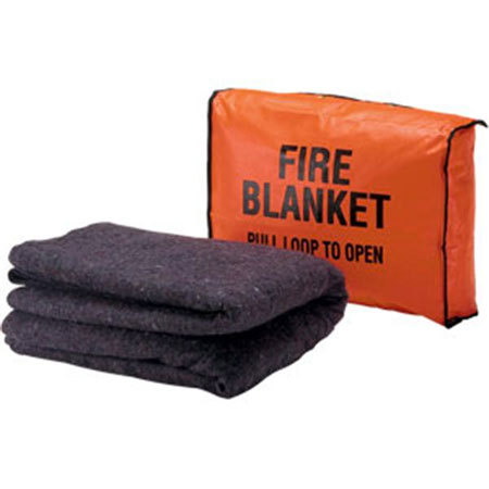 Brooks Fire Blanket Mountable Storage Bag
