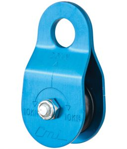 CMI Blue Anodized Aluminum Micro Pulley