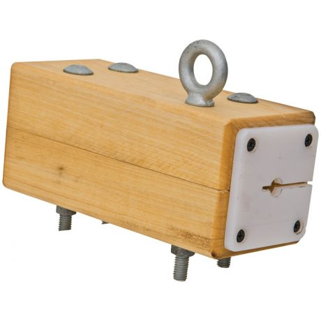 CMI Hardwood Trolley Brake Block