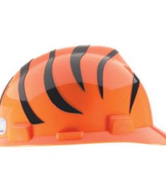 Cincinnati Bengals Hard Hart NFL Licensed Construction Helmet