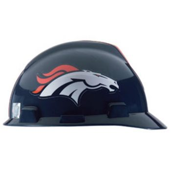 Denver Broncos Hard Hat NFL Construction Safety Helmet