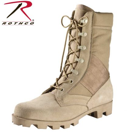 Desert Tan Speedlace Jungle Boots - Rothco
