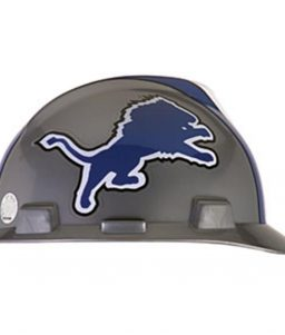 Detroit Lions Hard Hat NFL Construction Safety Helmet
