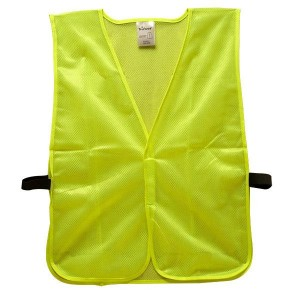 Economy Solid Lime Green Safety Vest