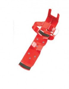 Fire Extinguisher Bracket with Universal Strap