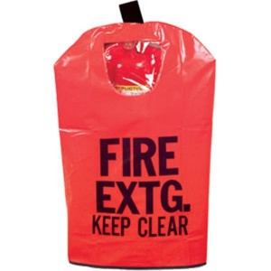 Fire Extinguisher Cover With Clear Transparent Window