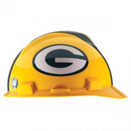 Green Bay Packers Hard Hat NFL Construction Safety Helmet