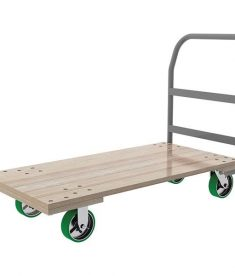 Hardwood Deck Platform Truck 1500 Pounds
