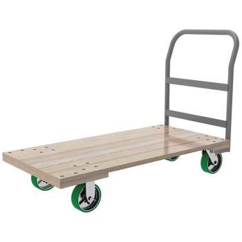 Hardwood Deck Platform Truck 1500 Pounds