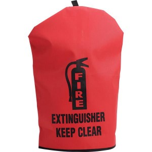 Heavy Duty Fire Extinguisher Cover - Reinforced Vinyl