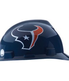 Houson Texans Hard Hat NFL Construction Safety Helmet