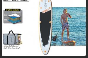 Hula 11 SUP for Surfing, Kayaking, Paddleboarding