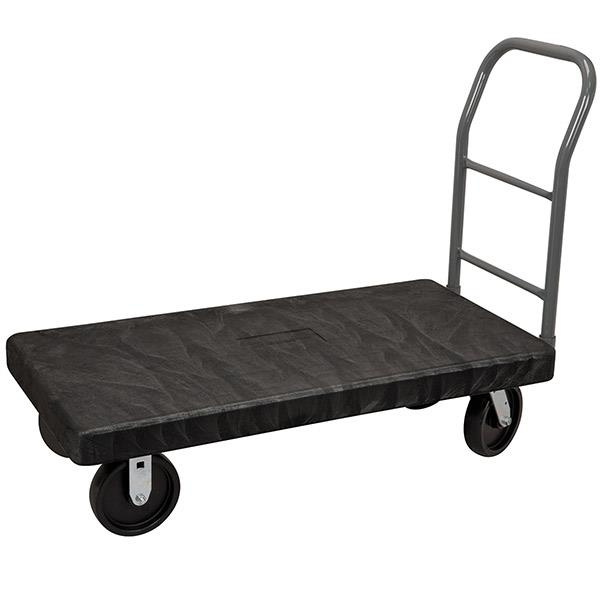 Large Industrial Platform Truck Flatbed Cart 30in X 60in